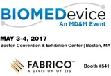 Visit Fabrico Medical in Boston at BIOMEDevice, May 3-4, 2017