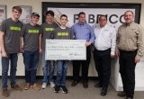 Youth Robotics Team is awarded sponsorship by Fabrico and EIS