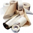 The correct materials for the application may combine paper and film - including Tyvek film from DuPont - and foils.