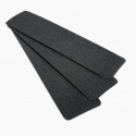 3M Safety-Walk Slip-Resistant General Purpose Tapes and Treads 610, Black, Precut Strips