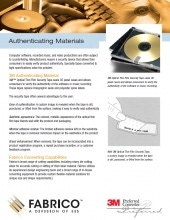 Download Authenticating Materials