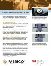 Download Hazardous Materials Labels