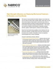 Download High-Strength Bonding Adhesives