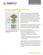 Download Thermal Management & Adhesives for Electronics