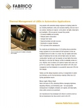 Download Thermal Management of LEDs in Automotive
