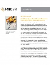 Download New Adhesive Systems for Harsh Environments White Paper