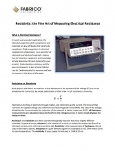 Download Resistivity White Paper