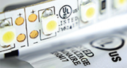 LED lighting label