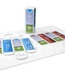 """Flat sheet """"Fold-Ups™"""" are optimized for digital printing equipment and die-cut"""