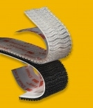 strips of reclosable fastening systems