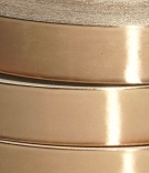 close up of rolls of brown tape